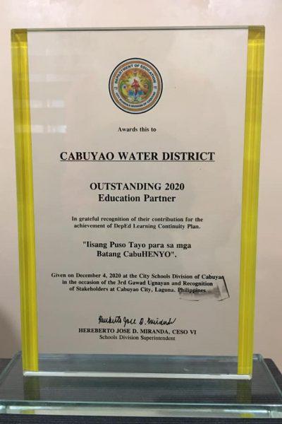 CABWAD AWARD 2020